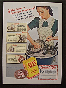 1940  S. O. S. Magic  Scouring  Pads (Image1)