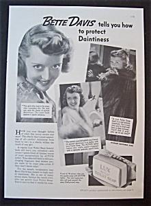 1937 Lux Toilet Soap with Bette Davis (Image1)