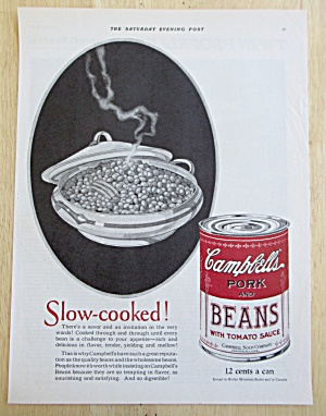 1926 Campbell's Pork and Beans with Can of Pork & Beans (Image1)