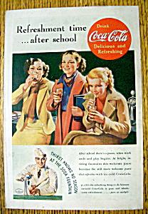 Vintage Ad: 1937 Coca Cola (Coke) (Image1)