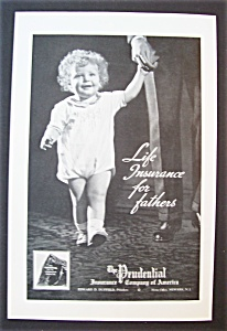 Vintage Ad: 1937 The Prudential Insurance Company (Image1)
