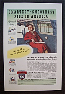 Vintage Ad: 1937 The  Greyhound  Lines (Image1)