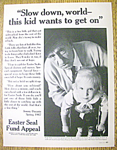 1967 Easter Seal Fund with Jimmy Durante (Image1)