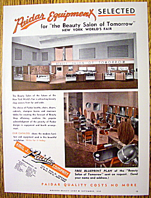 1928 Emil J. Paidar Company w/ Beauty Salon of Tomorrow (Image1)