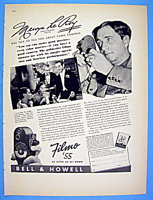 1938 Filmo Camera With Famous Director Mervyn Leroy