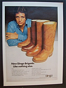 Vintage Ad: 1975 Dingo Boots with Ed Marinaro (Image1)