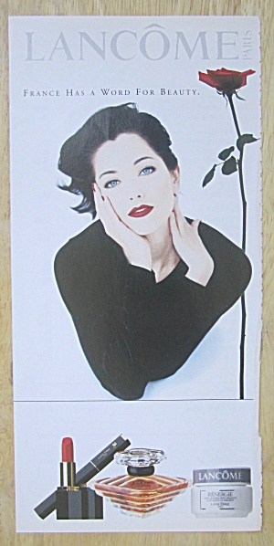 2004 Lancome Paris w/ Lovely Blue Eyed Woman  (Image1)
