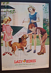 1975 Lazy Bones Shoes with 3 Children & Dog (Image1)