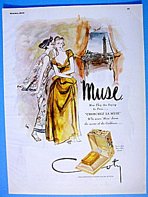 1946 Coty Muse with Two Women Talking (Image1)
