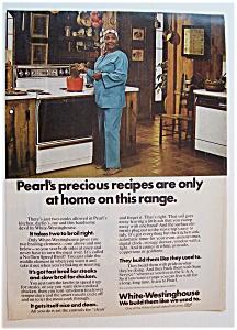 1976  White - Westinghouse  Range w/  Pearl  Bailey (Image1)