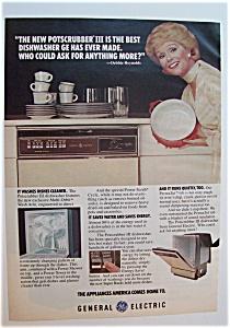 1978  GE Potscrubber III Dishwasher w/ Debbie Reynolds (Image1)