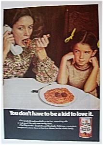 1974  Chef-Boy-Ar-Dee  Spaghetti  &  Meatballs (Image1)