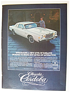 1976 Chrysler Cordoba With Ricardo Montalban