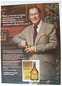 1975 Cutty Sark Whiskey With Rex Harrison