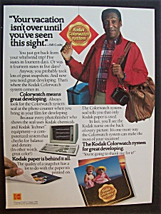 1989 Kodak Colorwatch System With Bill Cosby