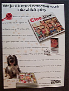 1989 Parker Brothers (Bros) Game with Clue Junior (Image1)