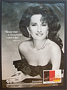 1986 Revlon Scoundrel Cologne With Susan Lucci