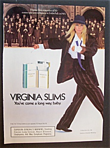 1986  Virginia  Slims  Lights  Cigarettes (Image1)