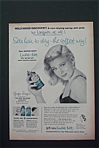 Vintage Ad: 1956 Lustre-net With Ginger Rogers