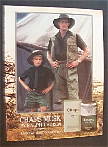 1986  Chaps  Musk  Cologne (Image1)