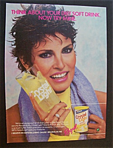 1986 Crystal Light Lemonade With Raquel Welch