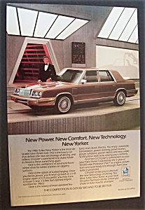 1985 Chrysler New Yorker With Ricardo Montalban