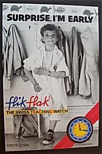 1988  Flik  Flak  Swiss  Teaching  Watch (Image1)
