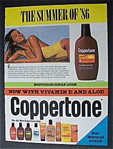 1986  Coppertone  Suntan  Lotion (Image1)