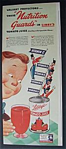 1943  Libby's  Tomato  Juice (Image1)