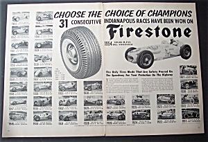 Vintage Ad: 1954  Firestone  Tires (Image1)