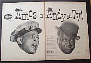1950 Blatz Beer With Amos 'n' Andy