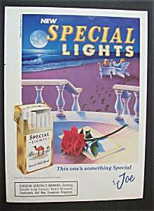 1993 Camel Special Lights Cigarettes