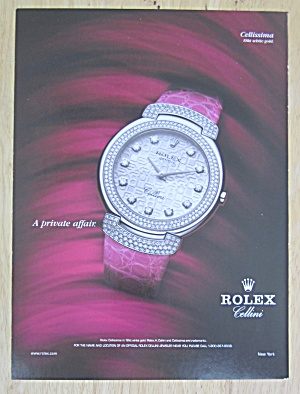2004 Rolex Watches With Rolex Cellissima