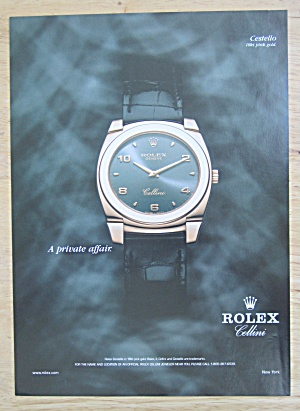 2004 Rolex Watches With Rolex Cestello