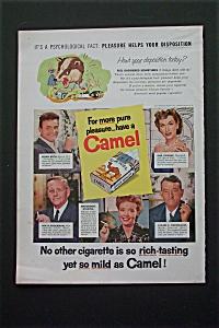 1956 Camel Cigarette w/Brian Keith, Rise Stevens & More (Image1)
