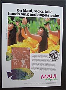 Vintage Ad: 1995  Maui  The  Magic  Isles (Image1)