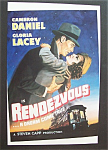 1989 Movie Ad For Rendezvous