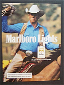 1990 Marlboro Lights Cigarettes