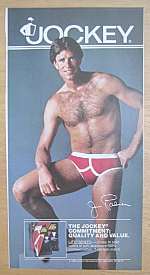 f90bd3328 Manufacturer  Advertisement. This fine vintage advertisement for a 1984 ad  for Just Jockey Underwear ...