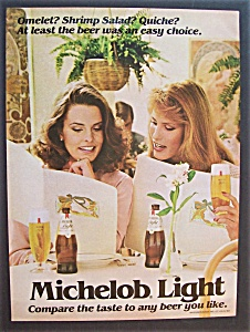 1981 Michelob Light Beer