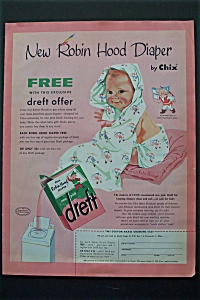 1956 Pink Dreft with New Robin Hood Diaper (Image1)