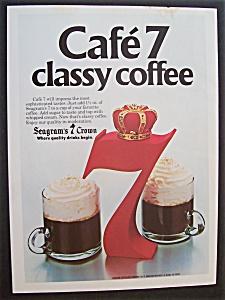 1981  Seagram's 7  Crown  &  Coffee (Image1)