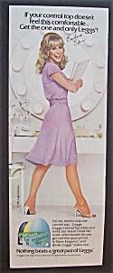 1981  Legg's Control Top Pantyhose w/  Barbara  Eden (Image1)