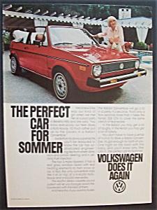 1981 Volkswagen Rabbit Convertible w/ Elke Sommer (Image1)