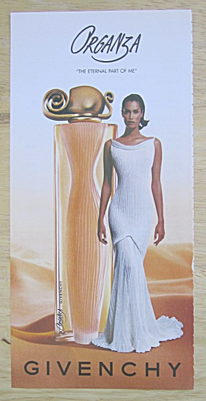 2004 Givenchy Organza with Lovely Woman in White Dress (Image1)
