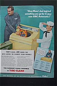 1956 AMC Automatic Washer with Boy Dressed as Sailor (Image1)