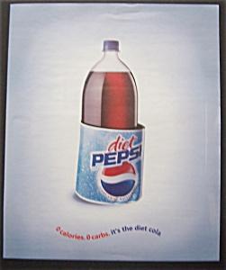 Vintage Ad: 2004  Diet  Pepsi (Image1)