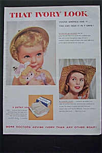 1956 Ivory Soap with Baby and a Woman (Image1)
