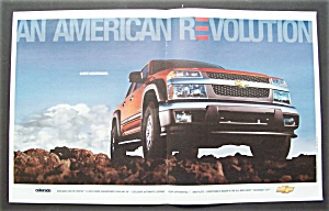 Vintage Ad: 2004 Chevrolet Colorado Z71