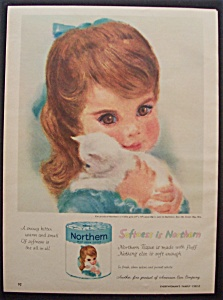 Vintage Ad: 1960 Northern Toilet Tissue (Image1)